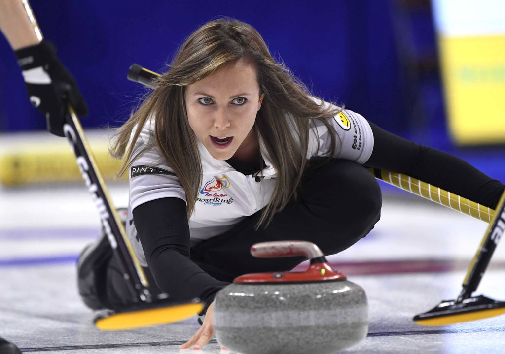 Rachel Homan a fait vibrer Ottawa lors du tournoi Roar of the Rings.