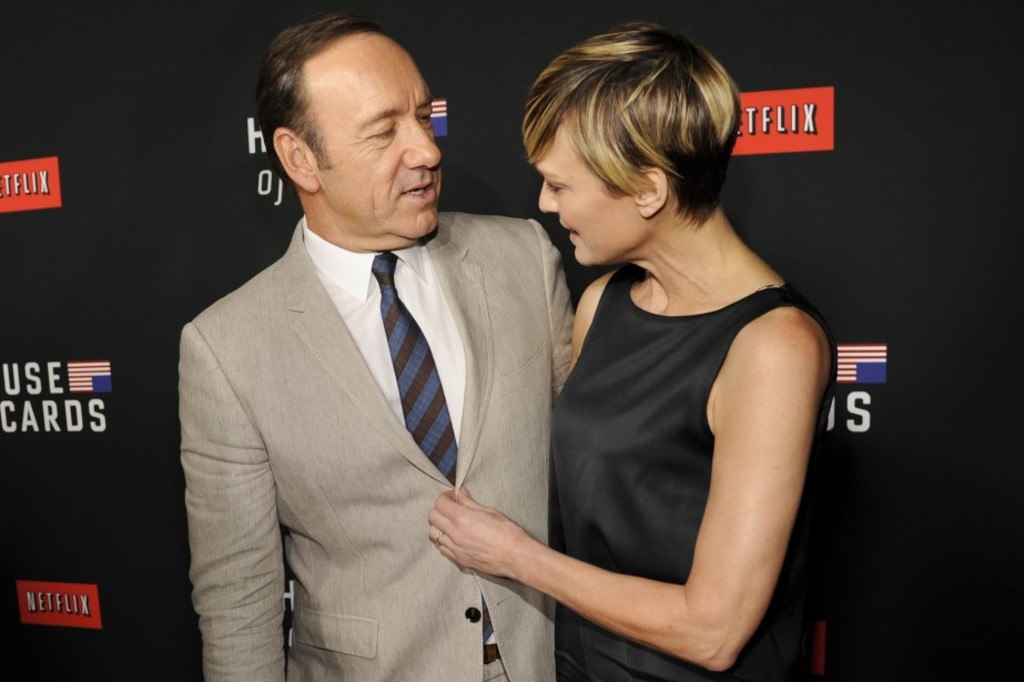 <p>Kevin Spacey et Robin Wright</p>