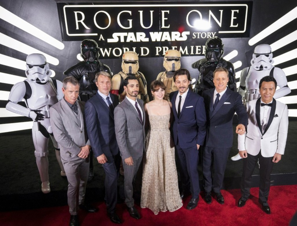 La distribution de <em>Rogue One : une histoire de Star Wars</em>