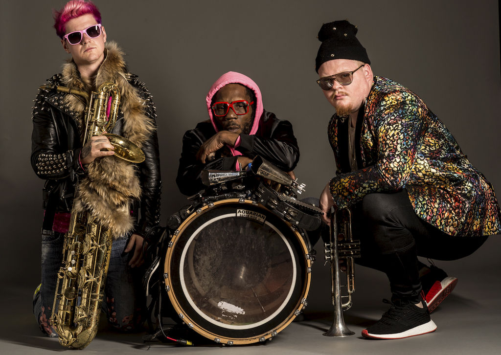 Le groupe Too Many Zooz