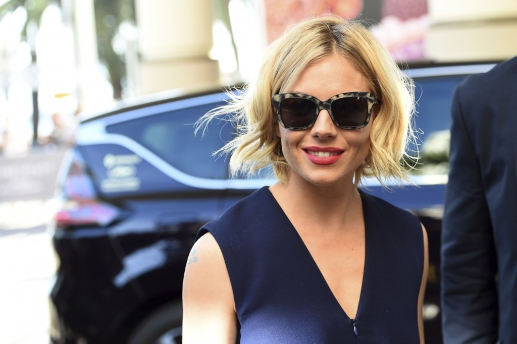 <p>L'actrice anglaise Sienna Miller</p>