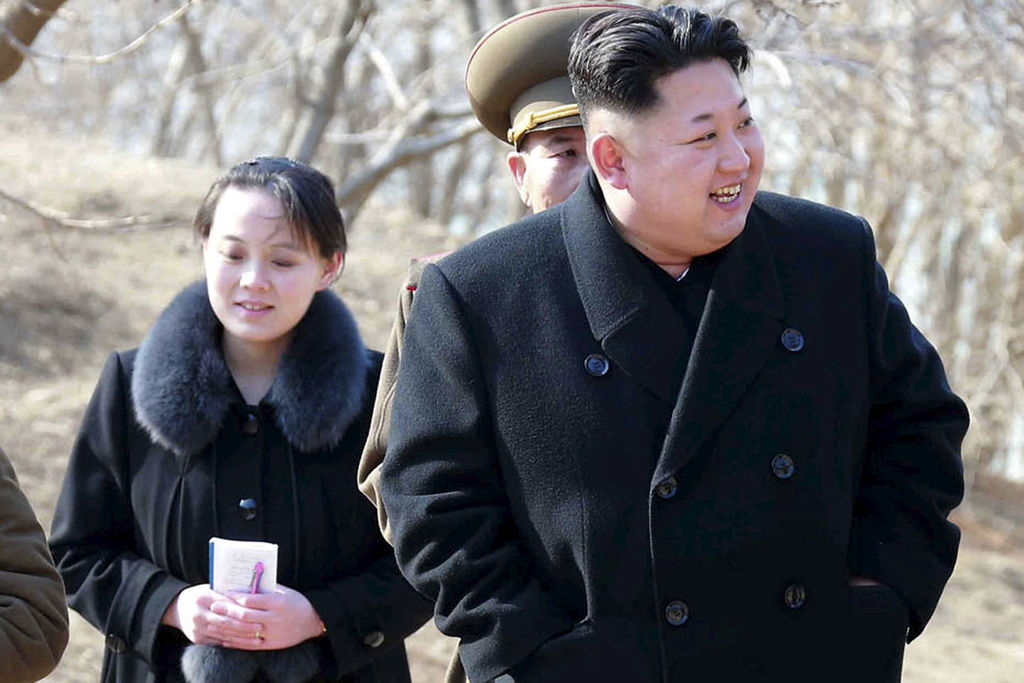 la soeur de kim jong un monte en grade actualit s le soleil qu bec. Black Bedroom Furniture Sets. Home Design Ideas