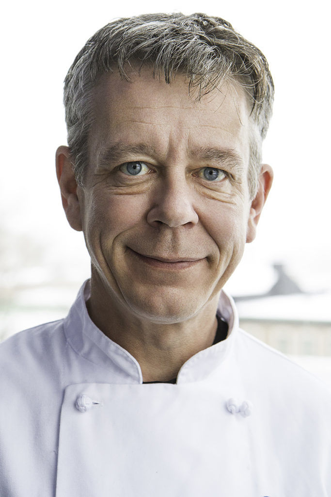 Le chef Jean-Pierre Cloutier