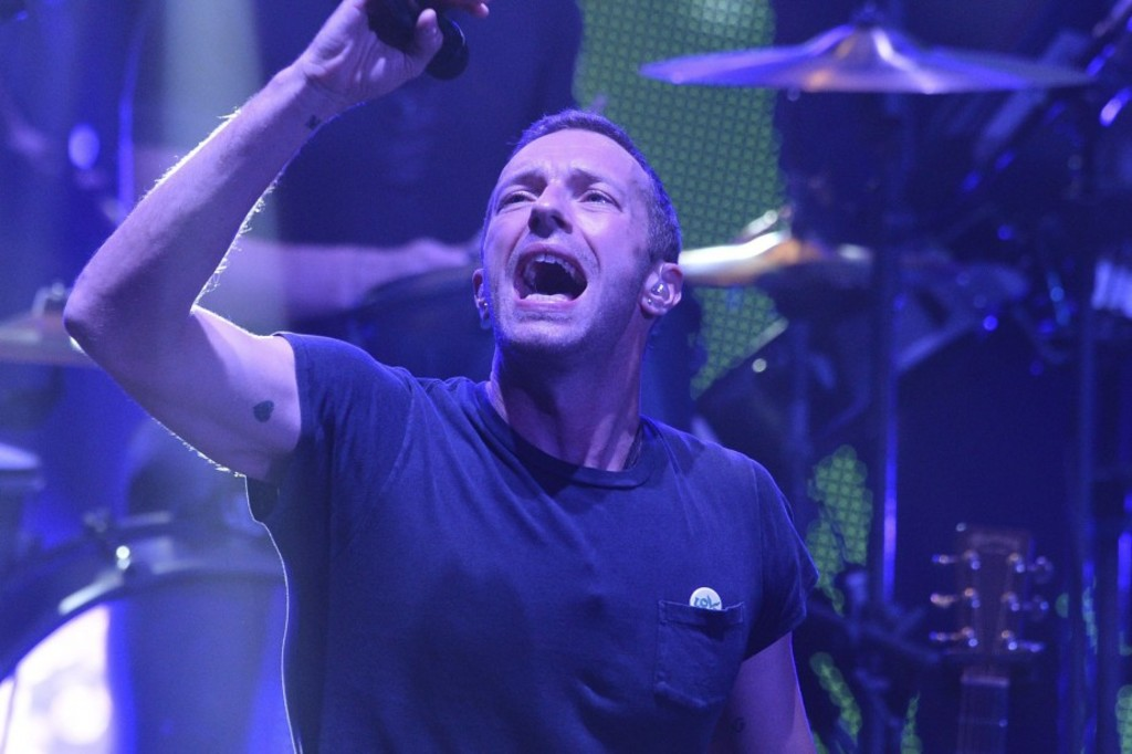Chris Martin, de Coldplay