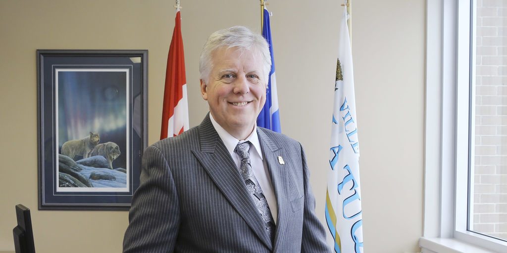 M. Pierre-David Tremblay, maire de La Tuque