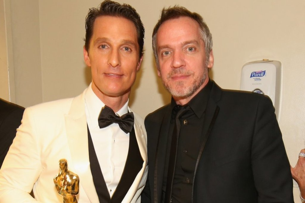 <p>Matthew McConaughey et<strong> </strong>Jean-Marc Vallée</p>