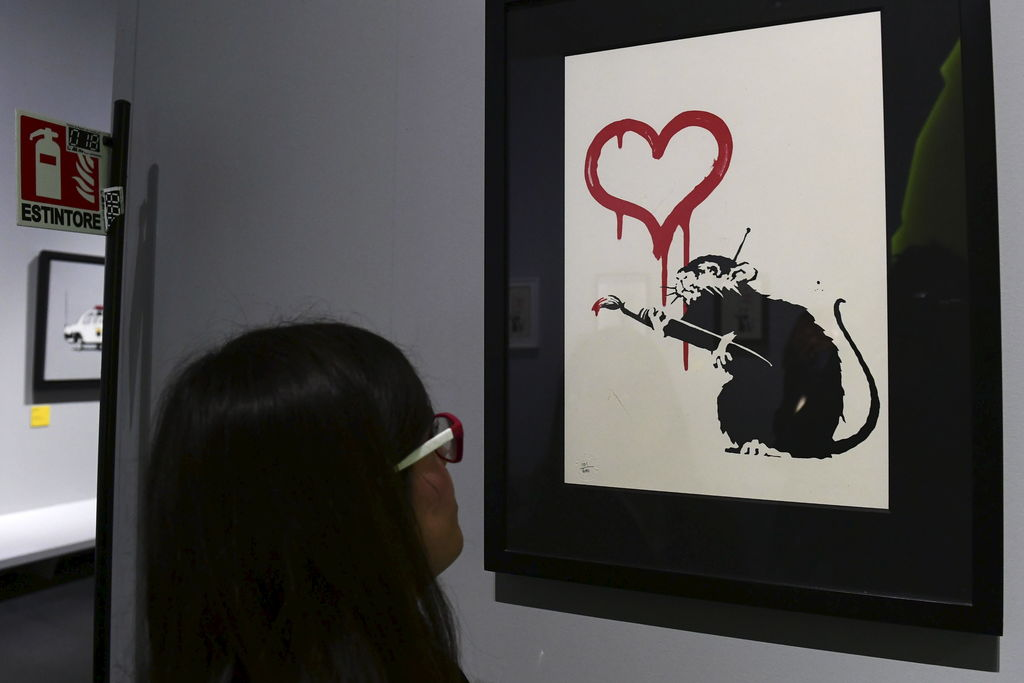 «Love Rat» de Banksy