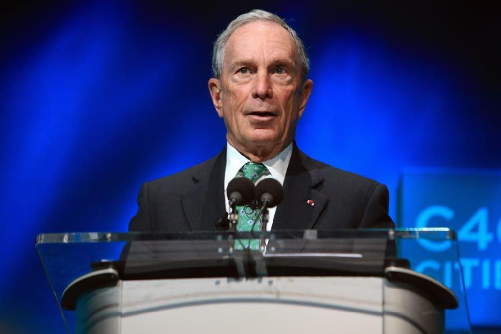 <p>Michael Bloomberg</p>