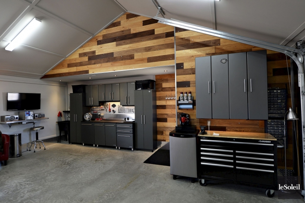 Idee amenagement garage stunning droulement with idee - Idee amenagement garage ...