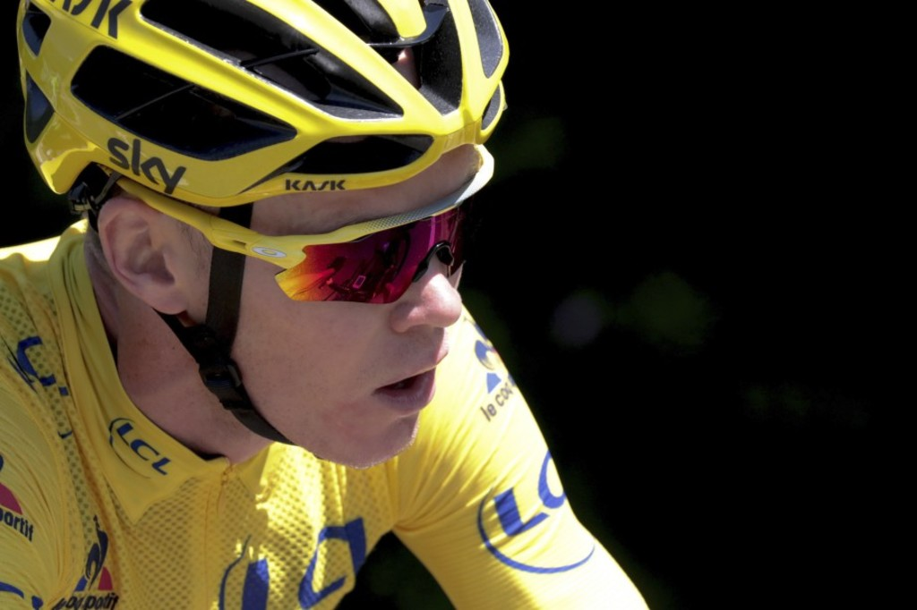 <p>Chris Froome</p>