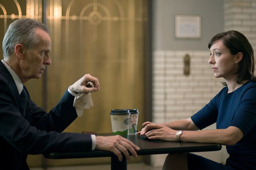 <p>David Clennon et Molly Parker</p>