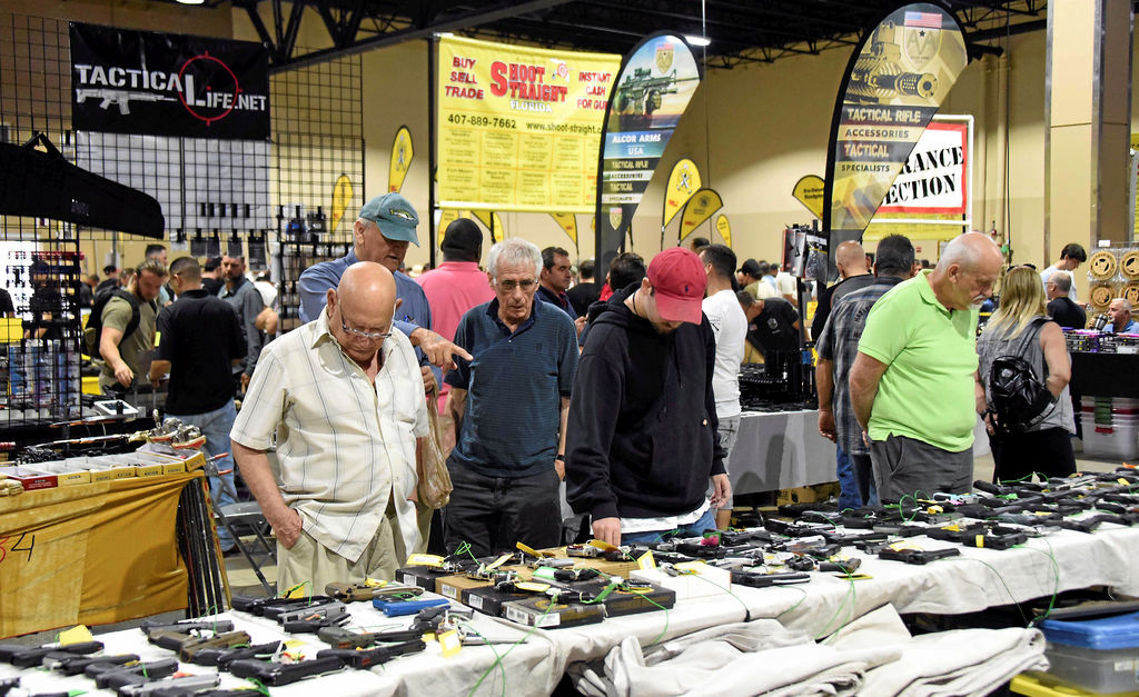 Le «South Florida Gun Show», samedi