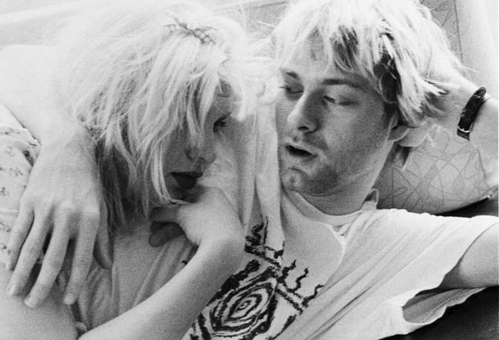 Courtney Love et Kurt Cobain