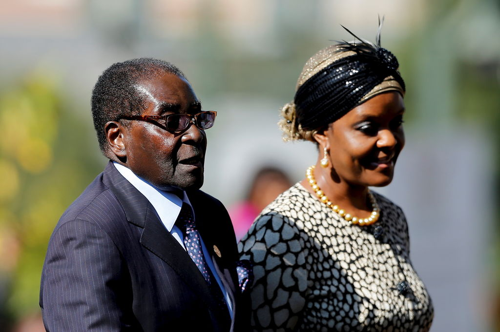 Robert et Grace Mugabe