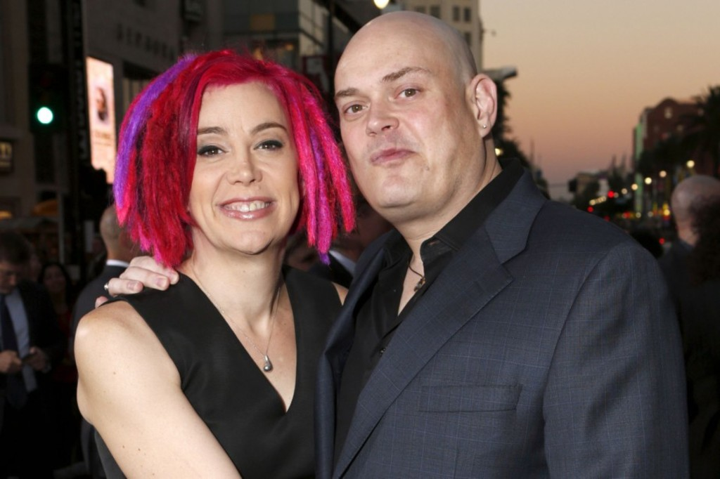 <p>Lana (ex-Larry) et Andy (maintenant Lilly) Wachowski</p>