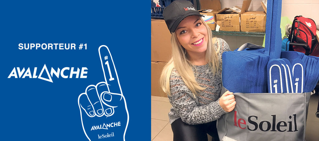 Le Supporteur #1 Avalanche : Élisabeth Beaudoin