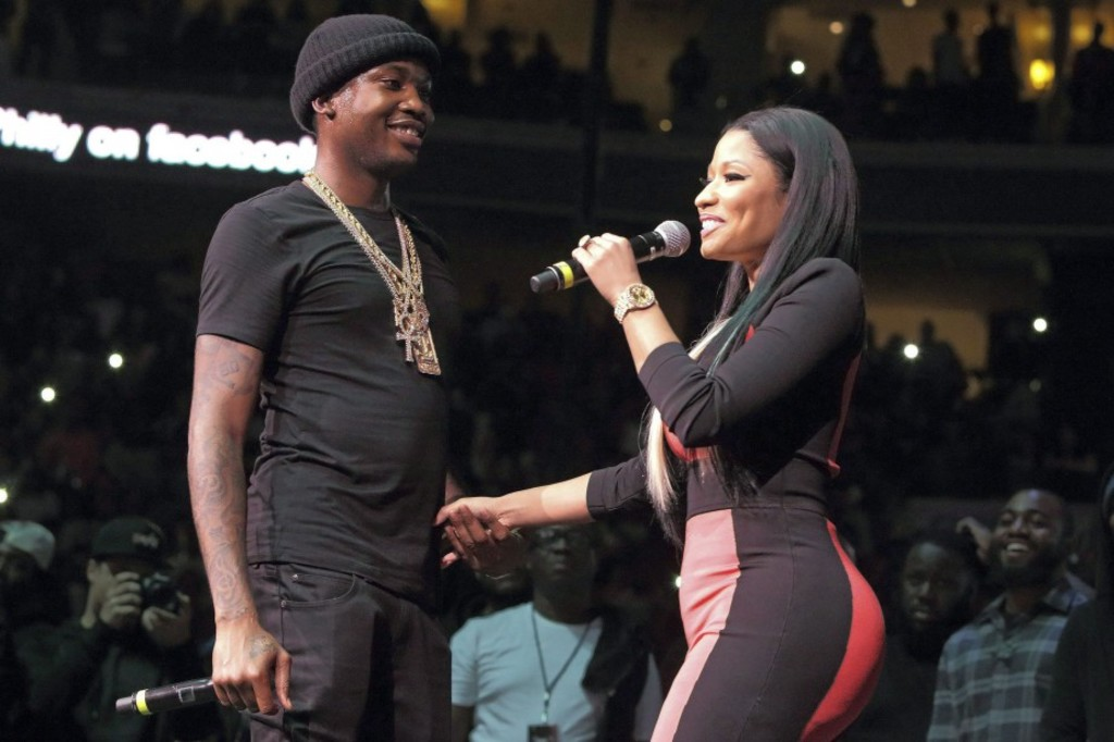 <p>Meek Mill et Nicki Minaj</p>
