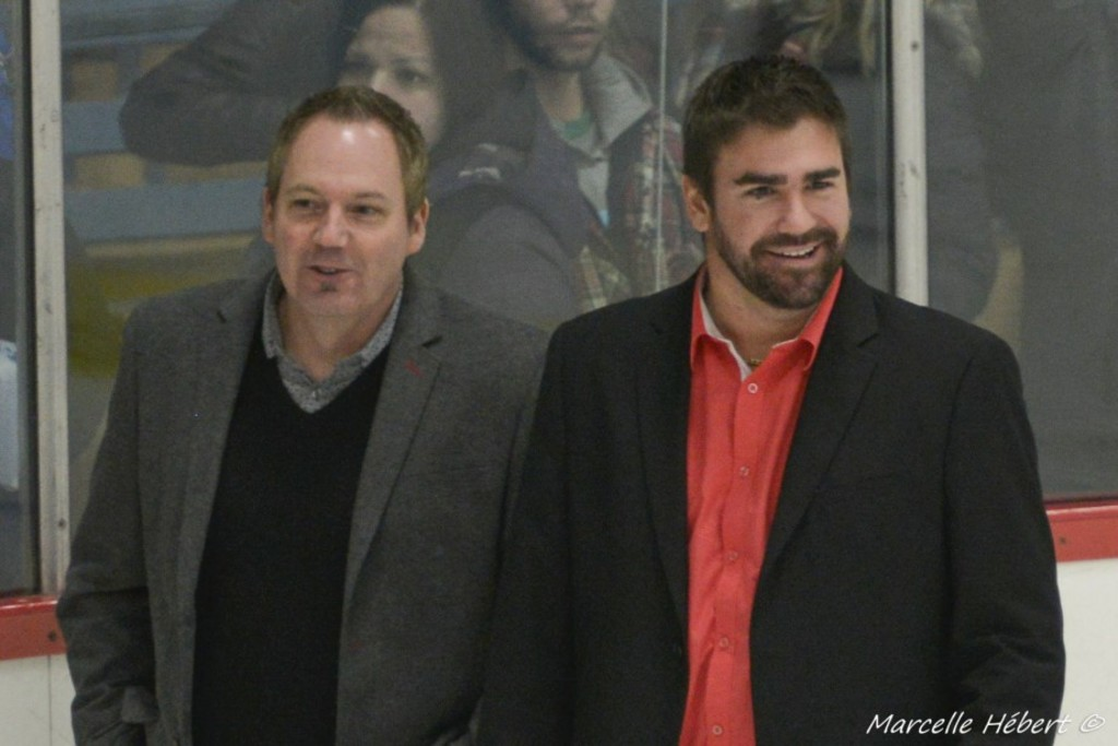 Dave Marchand et Tommy Gauthier