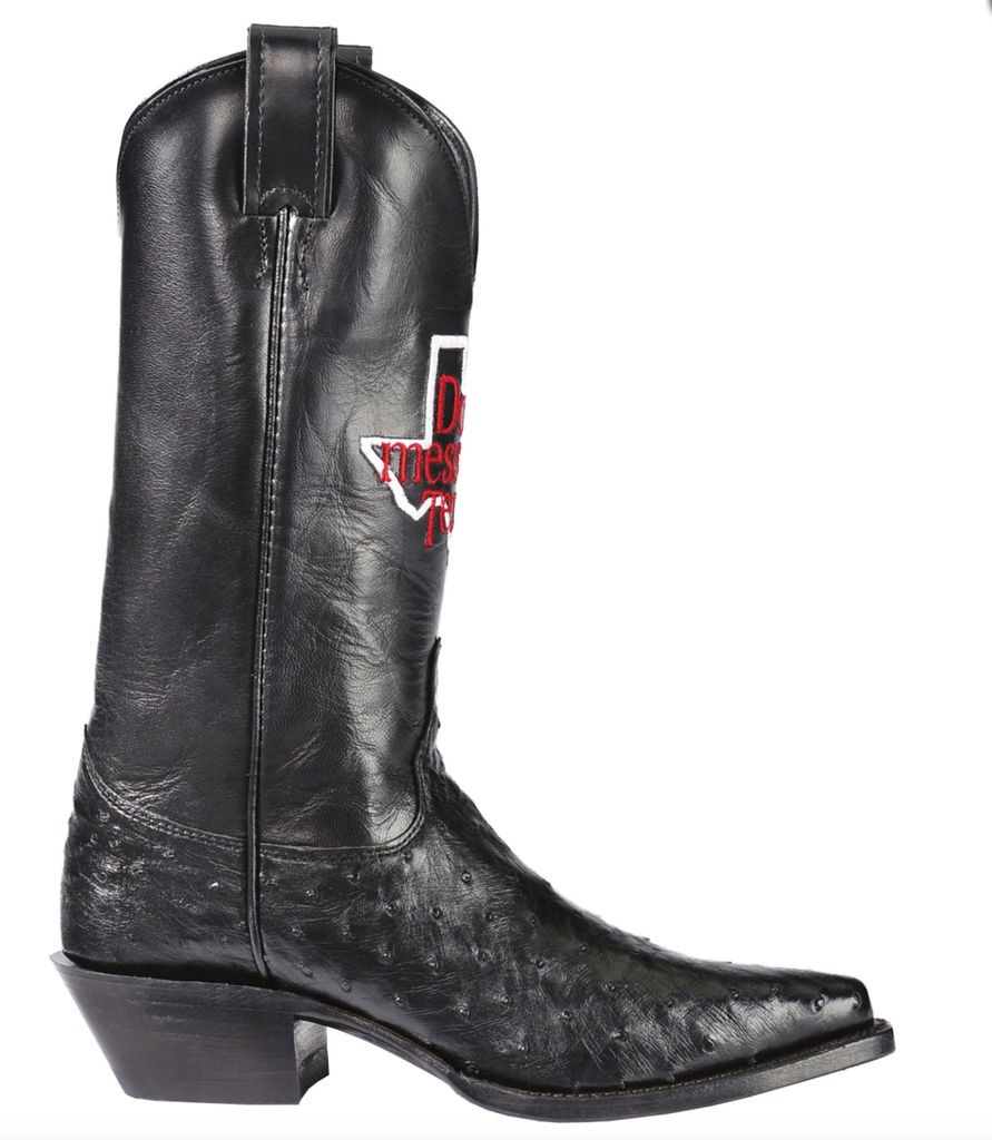 Botte Justin «Don't Mess With Texas», 544,99 $US chez Boot Barn
