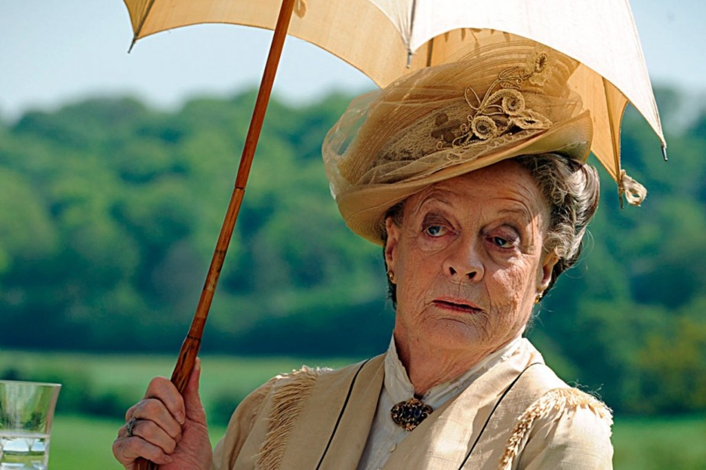 Maggie Smith dans <em>Downton Abbey</em>.