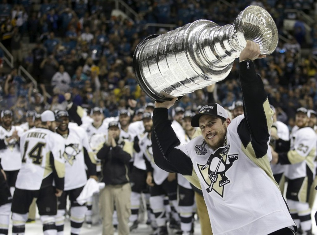 <p>Le capitaine des Penguins de Pittsburgh, Sidney Crosby</p>