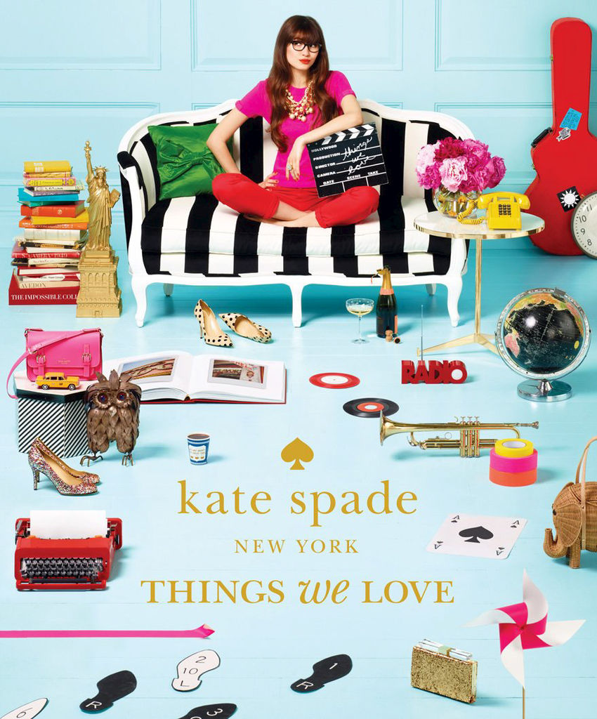 Livre Kate Spade New York Things We Love, 49,95$ chez Renaud-Bray