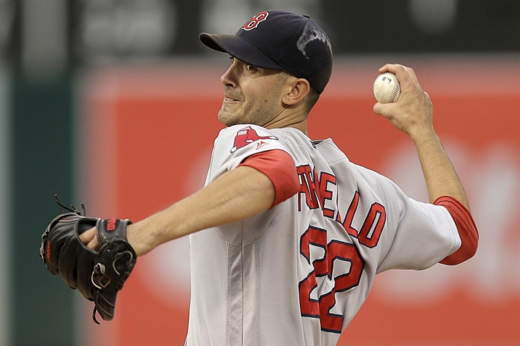 Le lanceur des Red Sox de Boston Rick Porcello