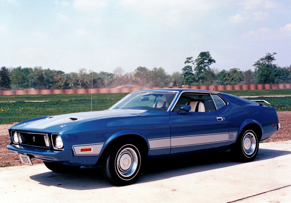 La Ford Mustang 1973