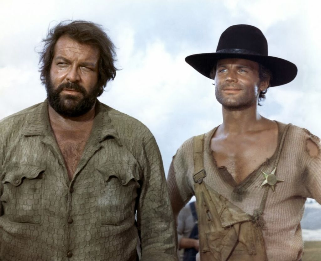 Bud Spencer et son acolyte Terence Hill