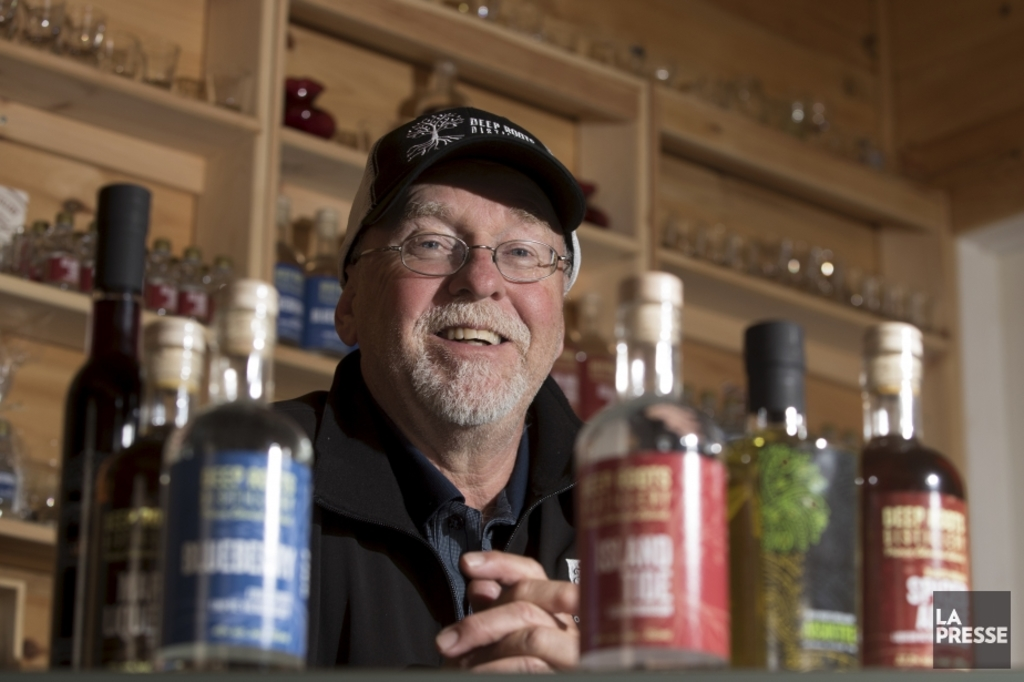 <p>Mike Beamish, de Deep Roots Distillery</p>
