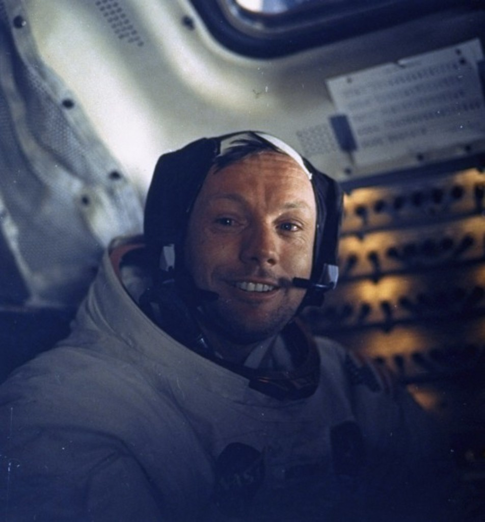 <p>Neil Armstrong</p>