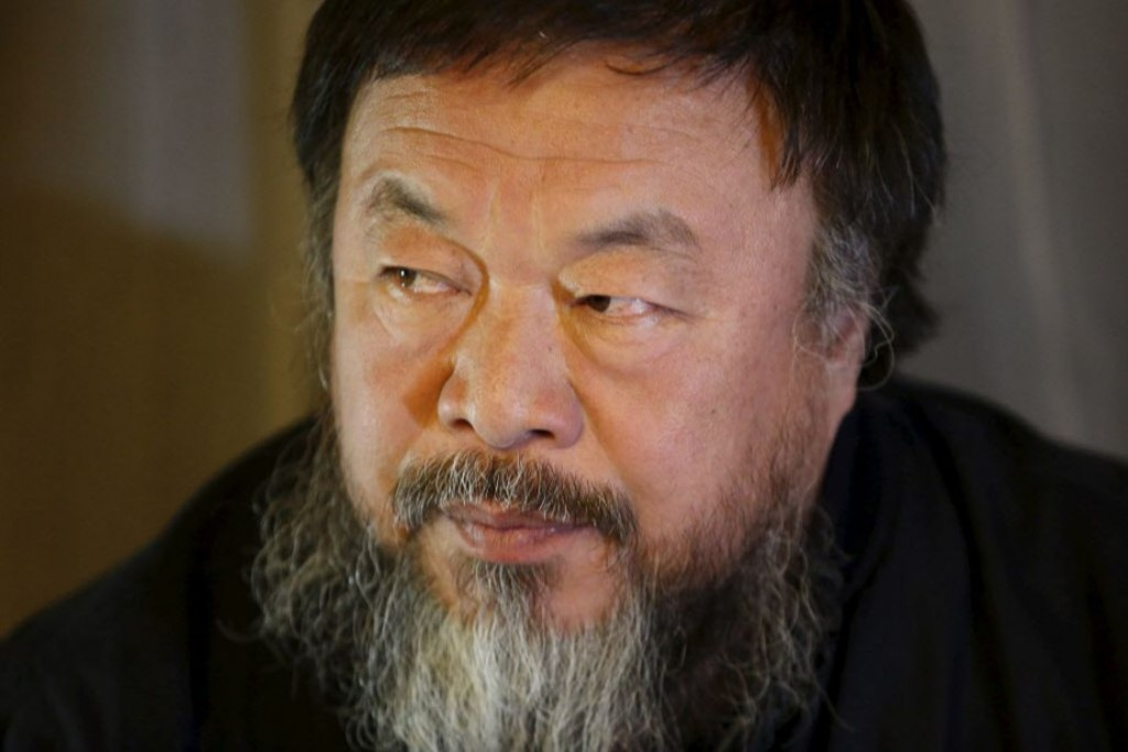 <p>L'artiste dissident chinois Ai Weiwei </p>