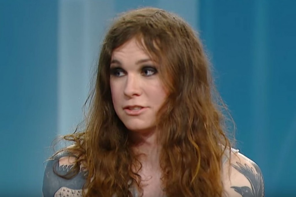 <p>Laura Jane Grace, en 2014</p>