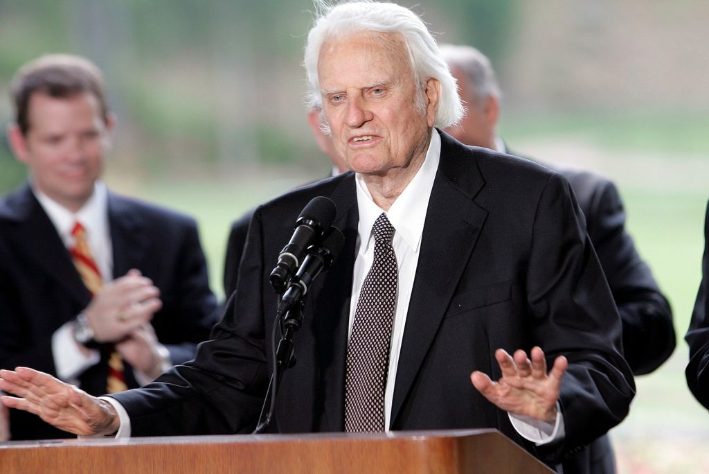 Billy Graham à Charlotte, en mai 2007