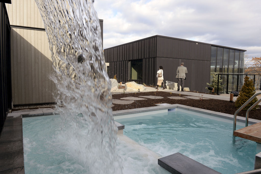 Le spa se trouve au bassin Brown, qui sera toujours accessible au public.