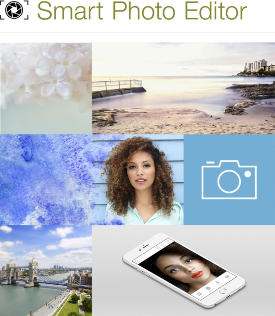 Captures d'écran du site Smart Photo Editor