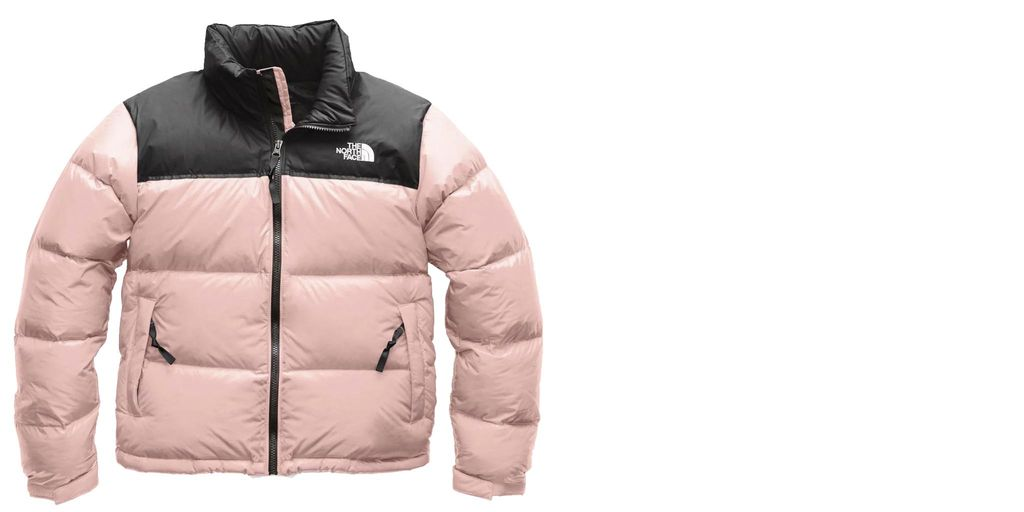 Doudoune rétro Nuptse pour femme par  The North Face