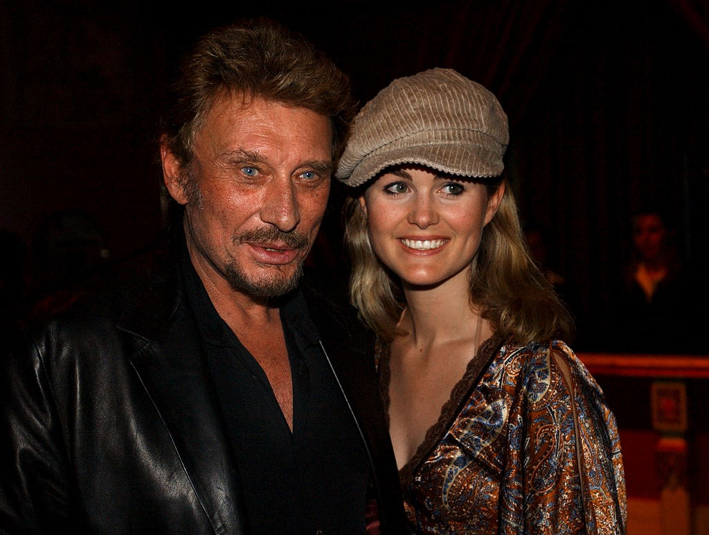 Johnny et Laeticia Hallyday, en septembre 2002