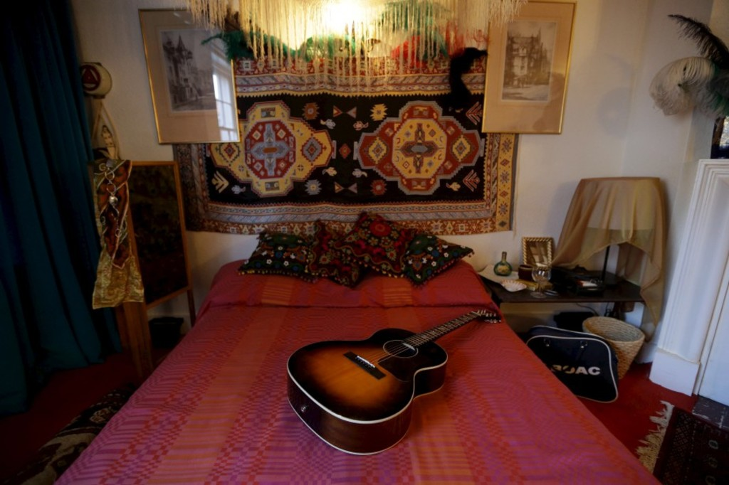 <p>L'ancien appartement de Jimi Hendrix à Londres</p>