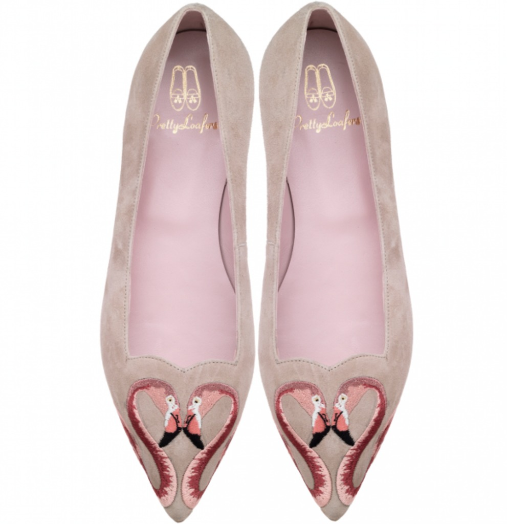 Ballerines Ella swans hearth de Pretty Ballerinas (279 $)