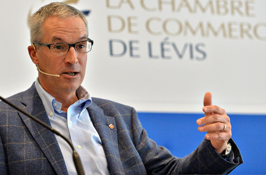 Jean laflamme un autre patron en col re affaires le for Chambre de commerce de levis