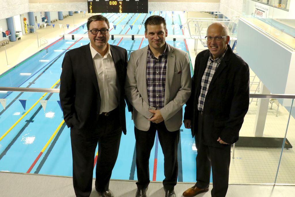 Une cure de rajeunissement sports le quotidien for Cegep jonquiere piscine