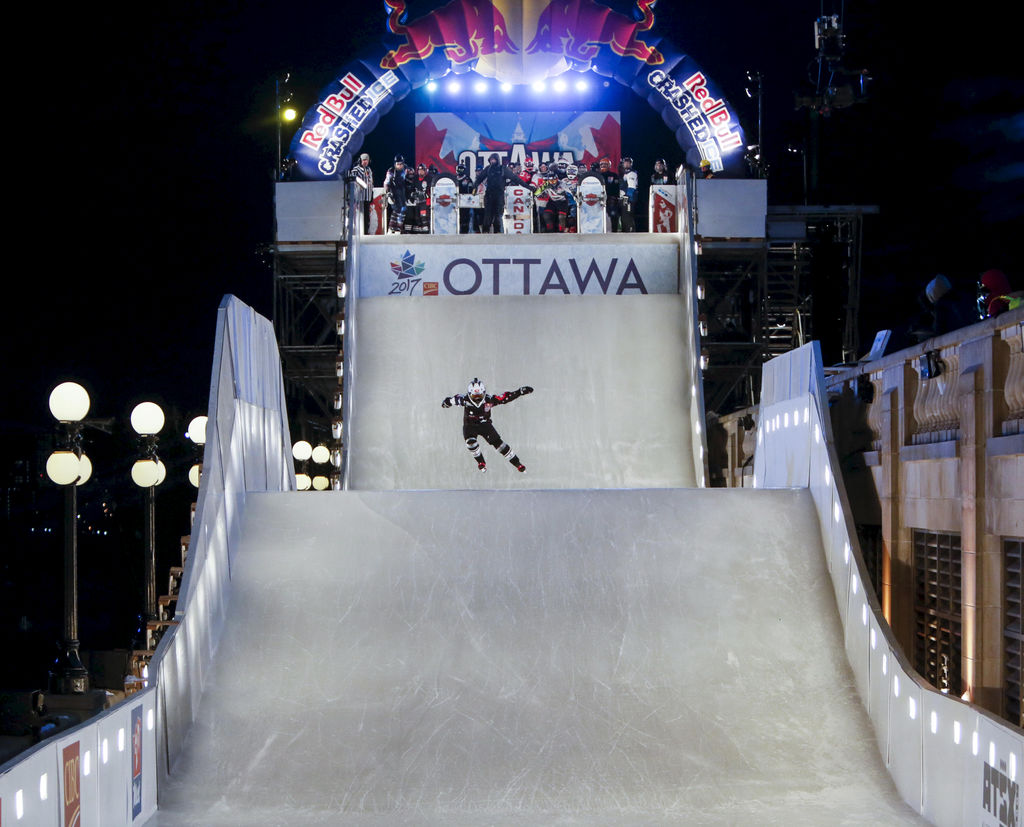 Le Redbull Crashed Ice d'Ottawa