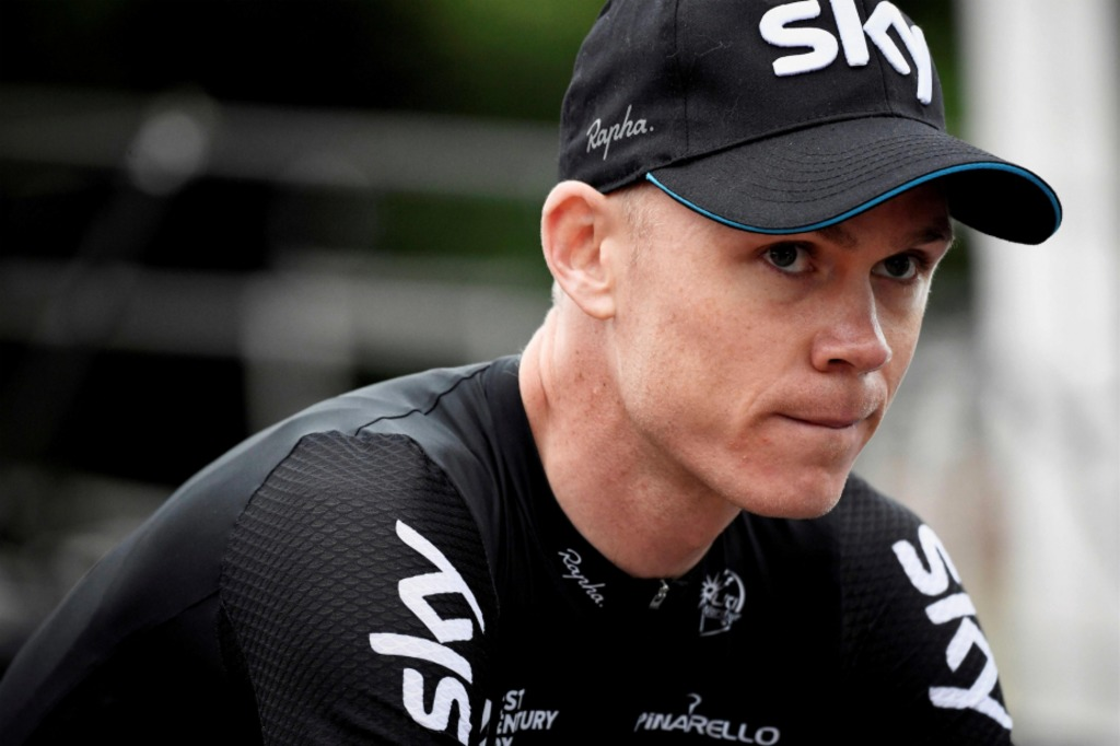 <p>Christopher Froome</p>