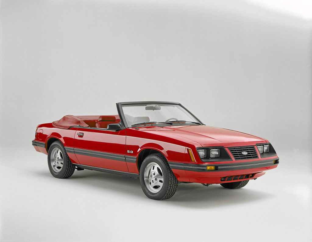 La Ford Mustang 1983