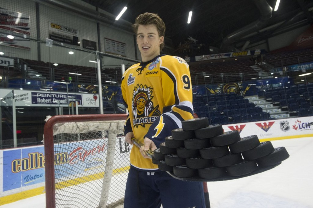 <p>Anthony Beauvillier sera le prochain capitaine des Cataractes de Shawinigan.</p>