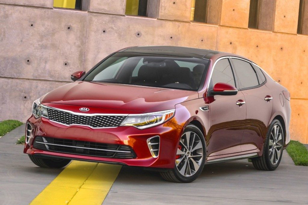 <p>Kia Optima SX 2016</p>