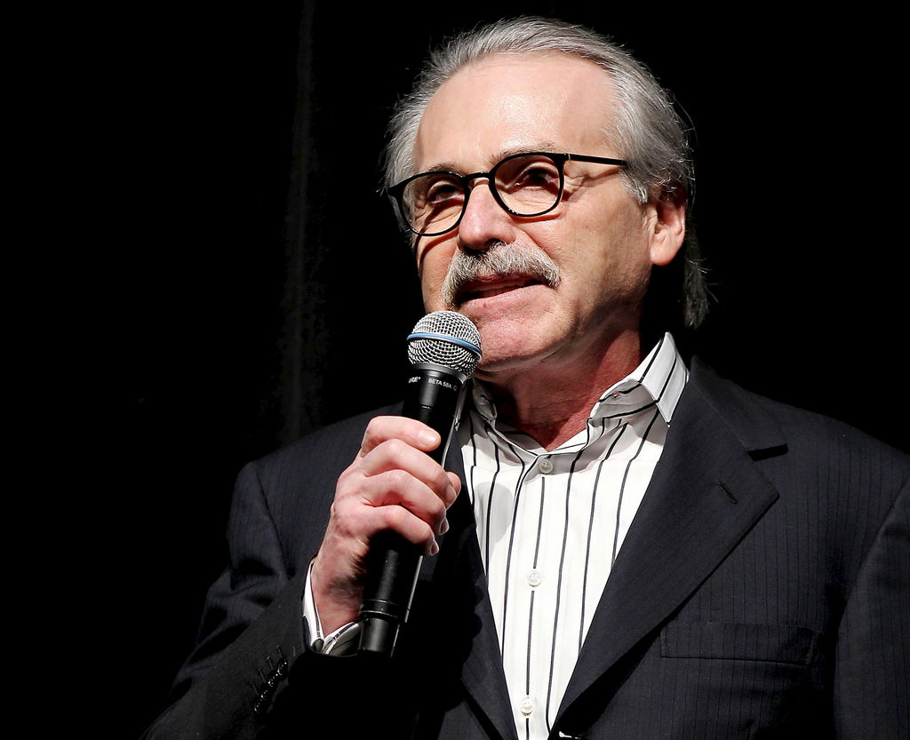 Le patron du National Enquirer, David Pecker, en janvier 2014