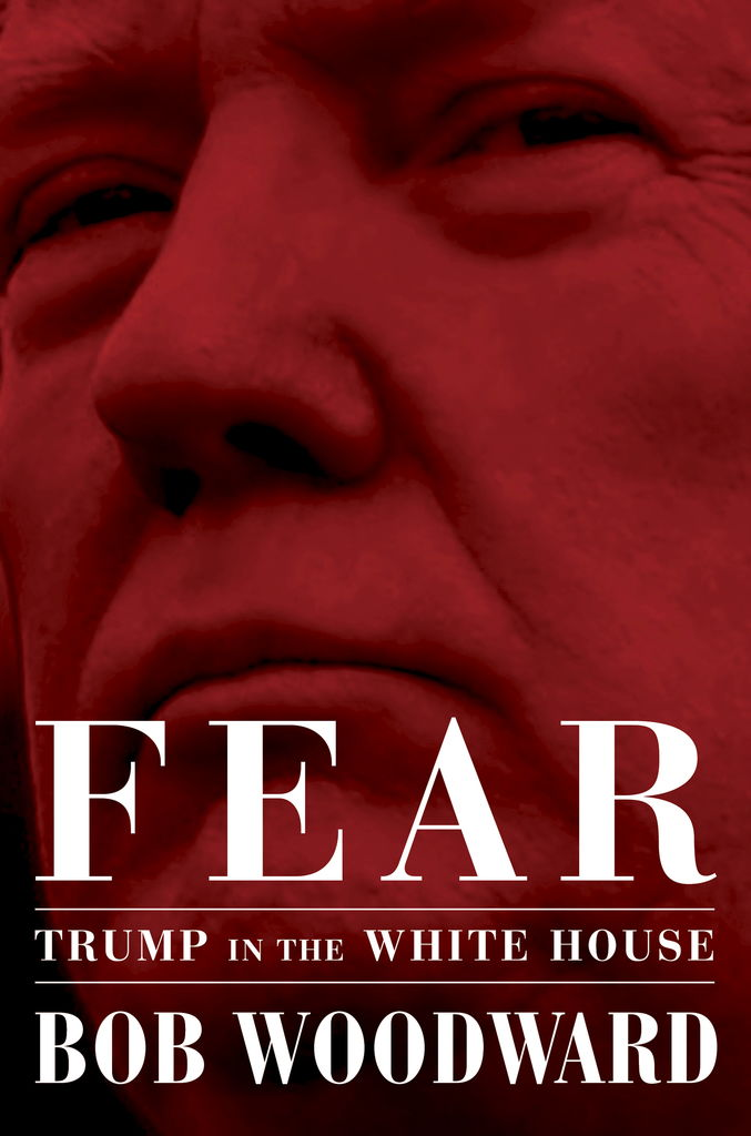 Le livre «Fear: Trump in the White House» du journaliste d'enquête Bob Woodward