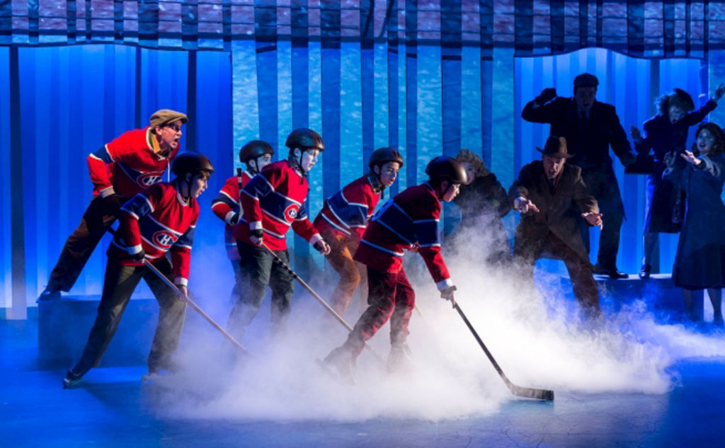 La comédie musicale The Hockey Sweater : A Musical